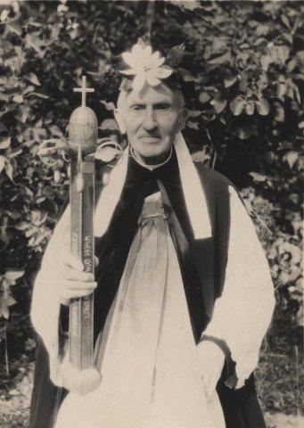 Juozapas (Juozas) Vilėniškis (Adomo Vilėniškio brolio Gasparo sūnus), kunigavimo 50-metis. 1951 m. rugsėjo 22 d.