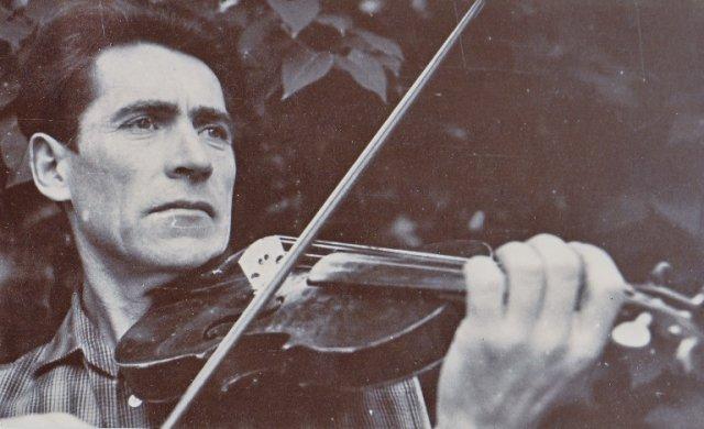 Liaudies instrumentų meistras ir smuikininkas Jurgis Stankevičius