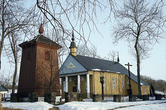 Paberžės Švč. Mergelės Marijos Apsilankymo bažnyčia.