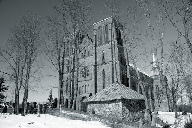 Kamajai. Kamajų Šv. Kazimiero bažnyčia.
