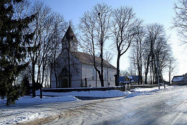 Šimonys. Šv. Mergelės Marijos ėmimo į dangų bažnyčia.