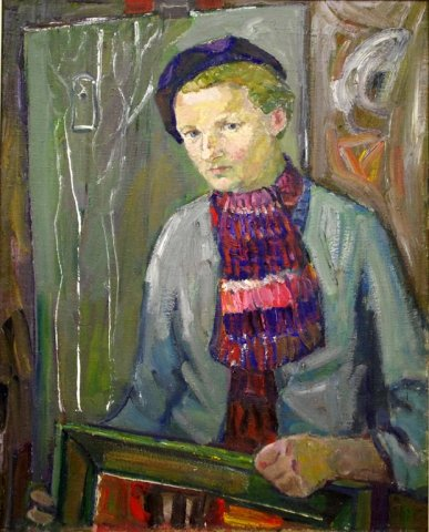 Autoportretas. 1960