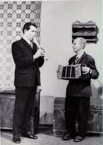 Jurgis Stankevičius (kairėje) ir Aleksas Kriūka