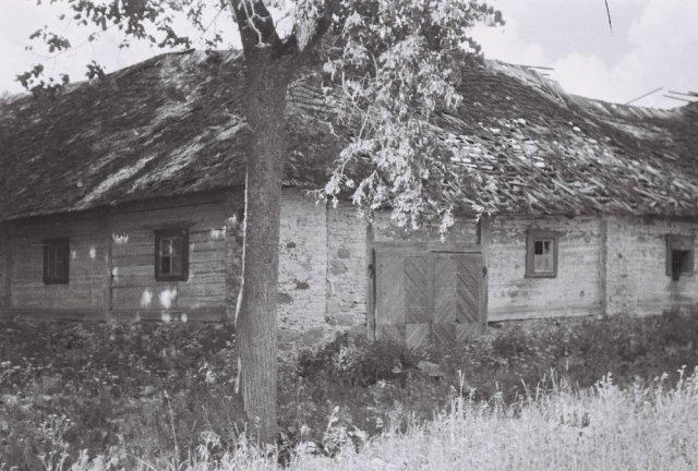 Šileikiškių kaimo sodybos pastatas.