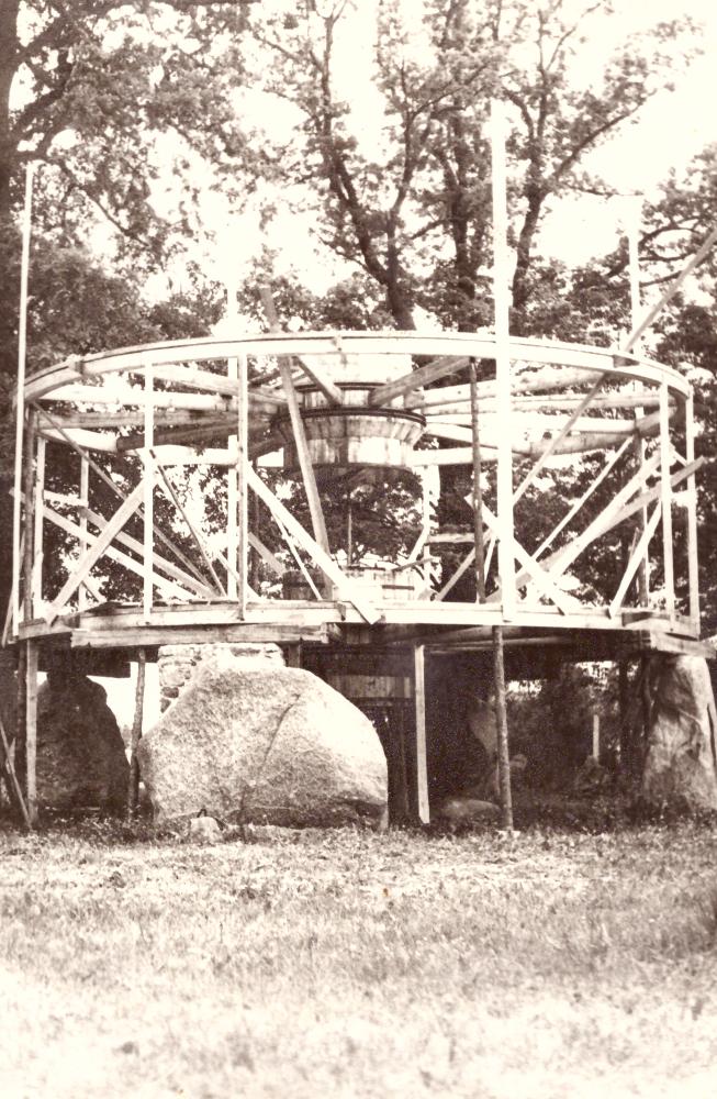 Pastato - Bokšto statybos, apie 1978 m. GEK 3389