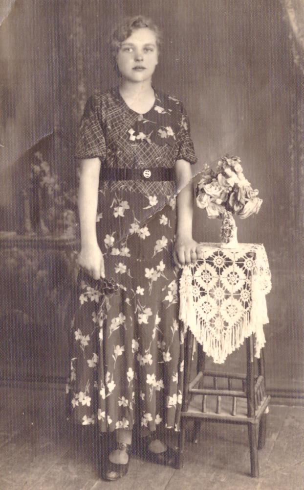 Pirmoji Adomo Petrausko žmona Janina Goštautaitė, 1939 m. GEK 1305