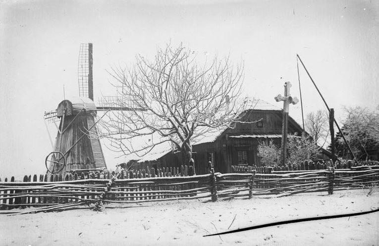Sodyba Kupiškyje 1930 m. Nuotrauka Balio Buračo