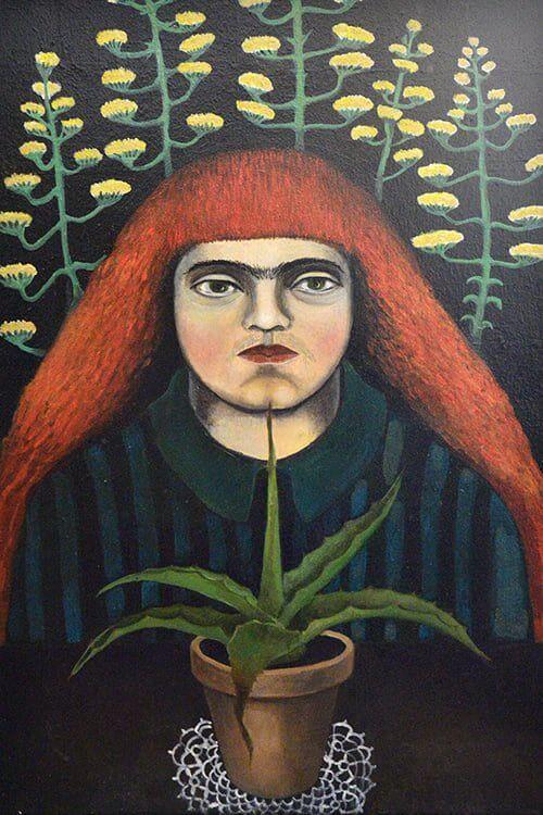 """""""Augalo prižiūrėtoja. Iki gyvos galvos"""" Drobė, aliejus. 2013 m."""