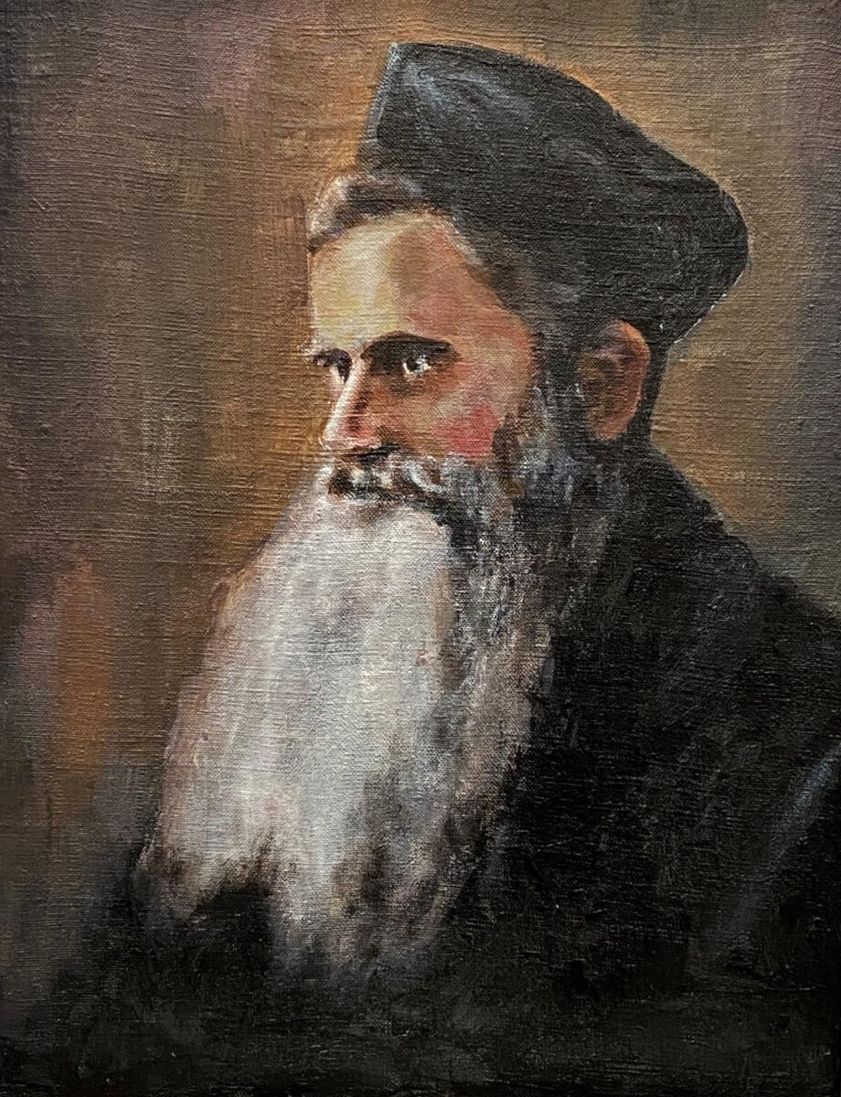 Utenos rabinas Abraomas Aizenštatas.