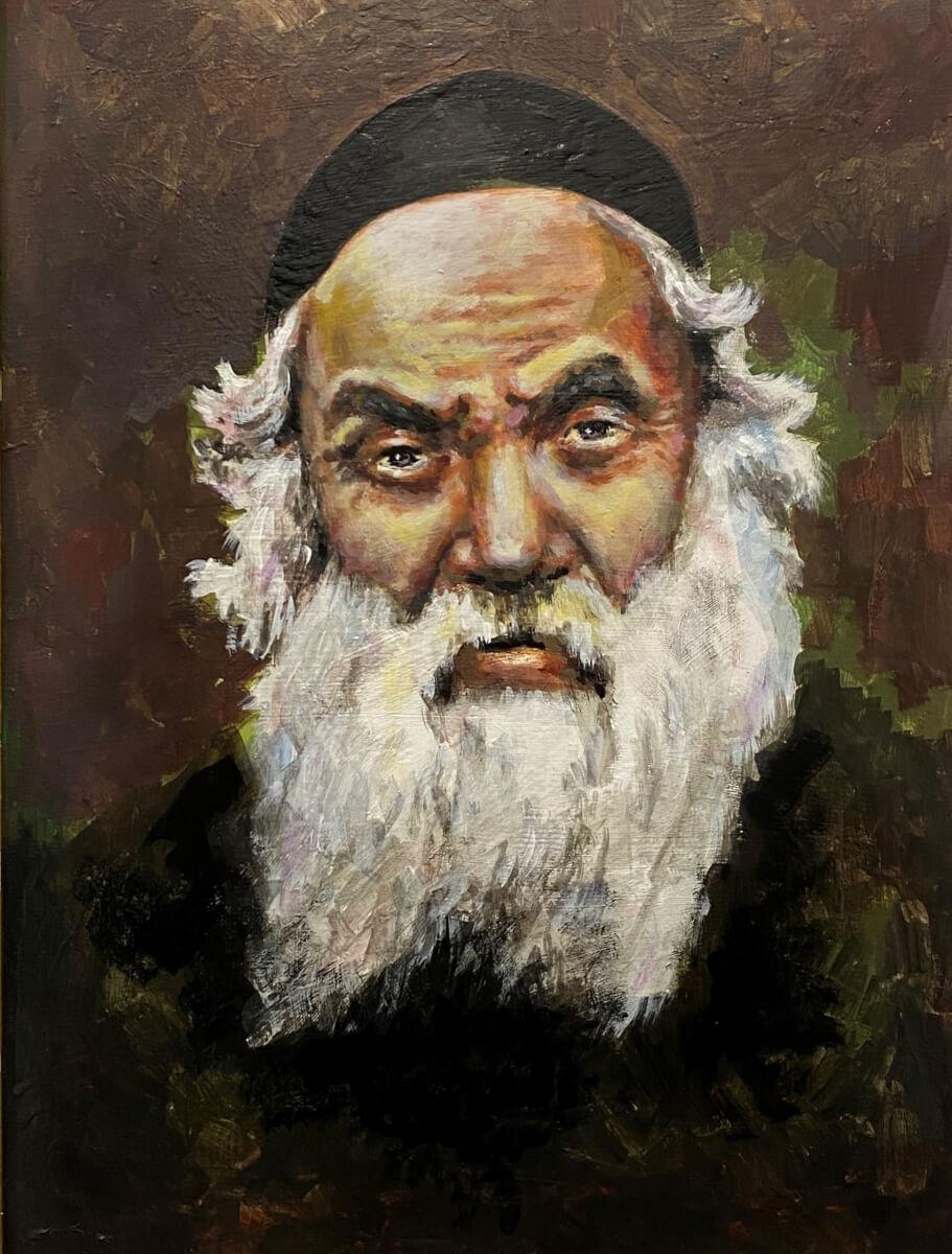 Tauragnų rabinas Eleizeris Cvi Pinesas.