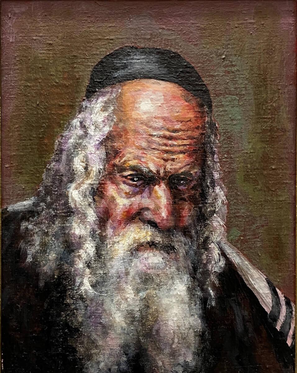 Izraelio rabinas Eliezer Berland.