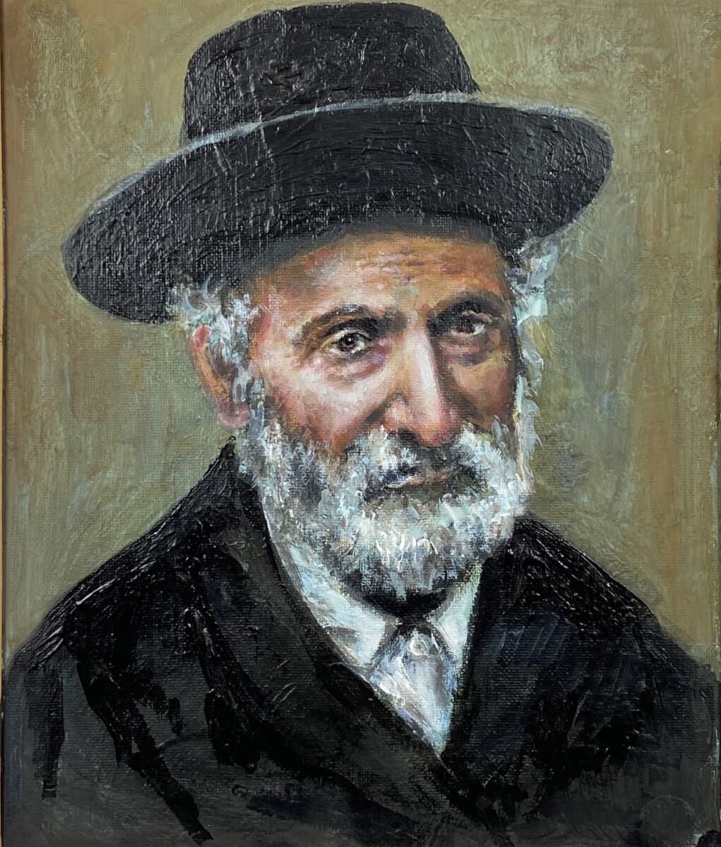 Liublino rabinas Elijas Klačkinas.