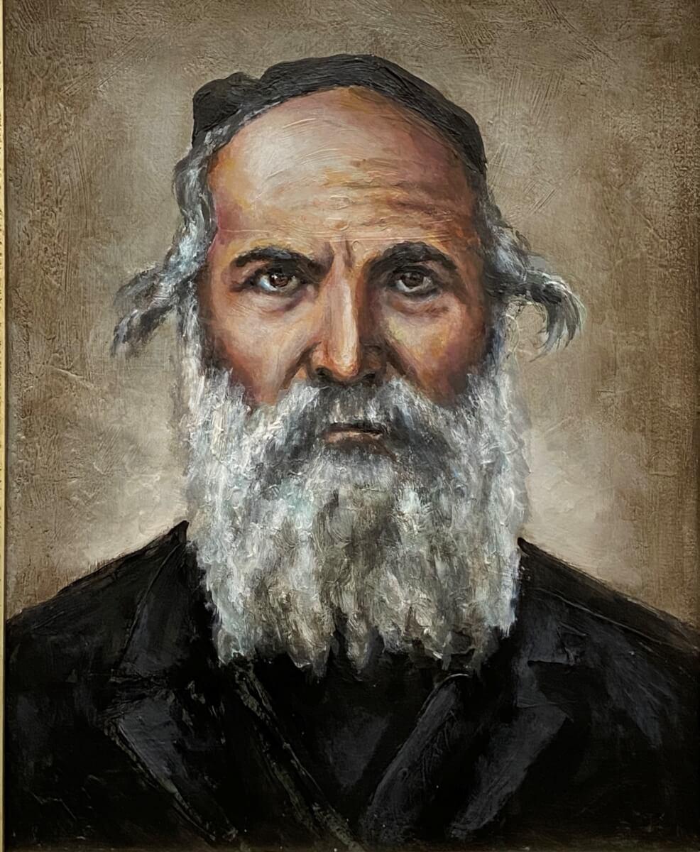 Lionovo Kurlande rabinas Izraelis Klačkinas.