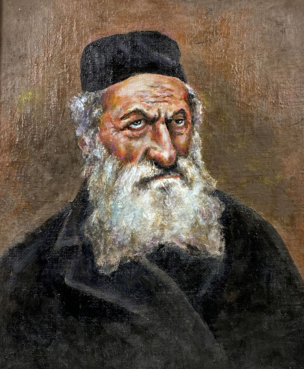 Užpalių rabinas Naftalis Klačkinas.