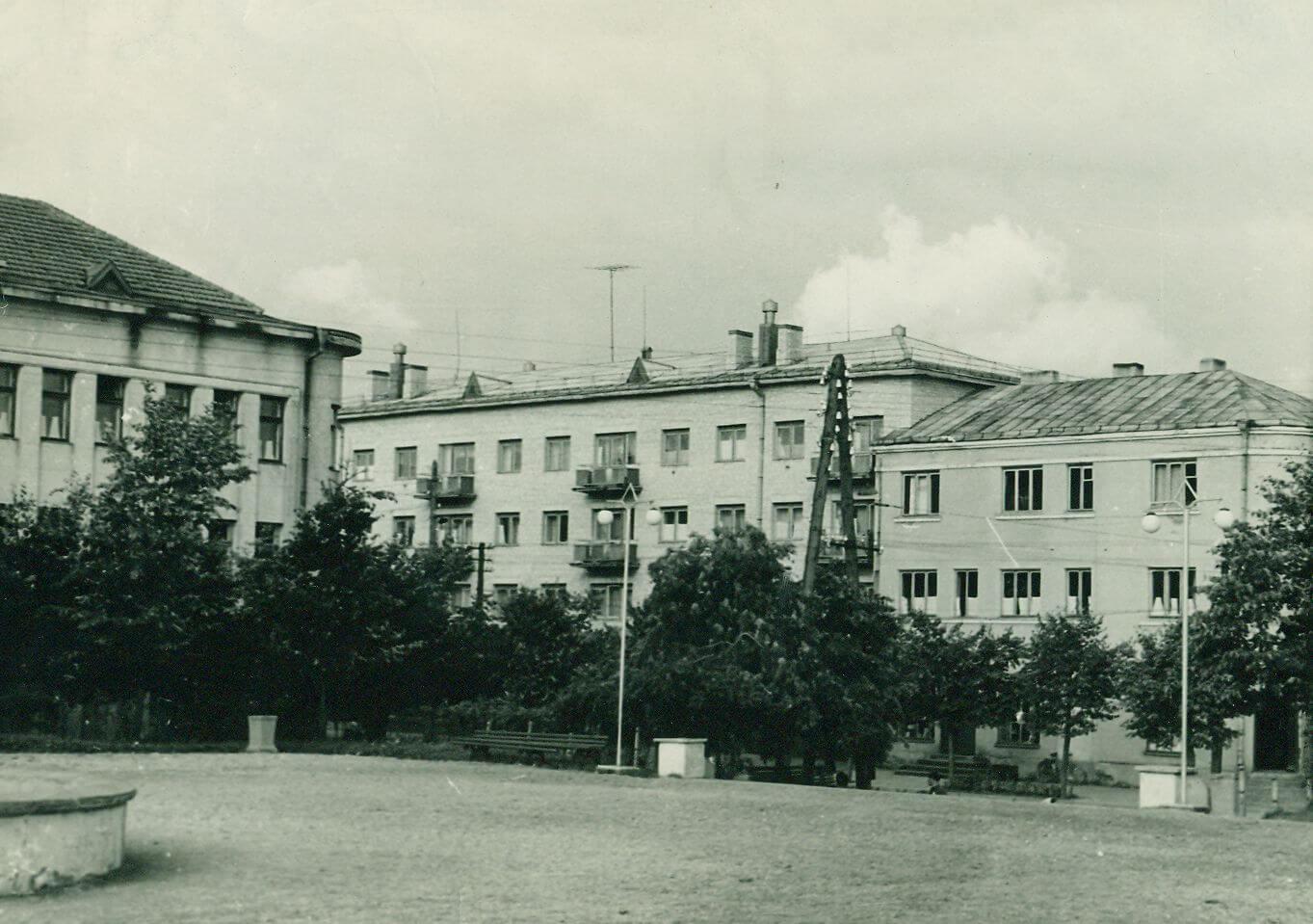 Buvęs Bliumės Trapidaitės namas - parduotuvė sovietmečiu.