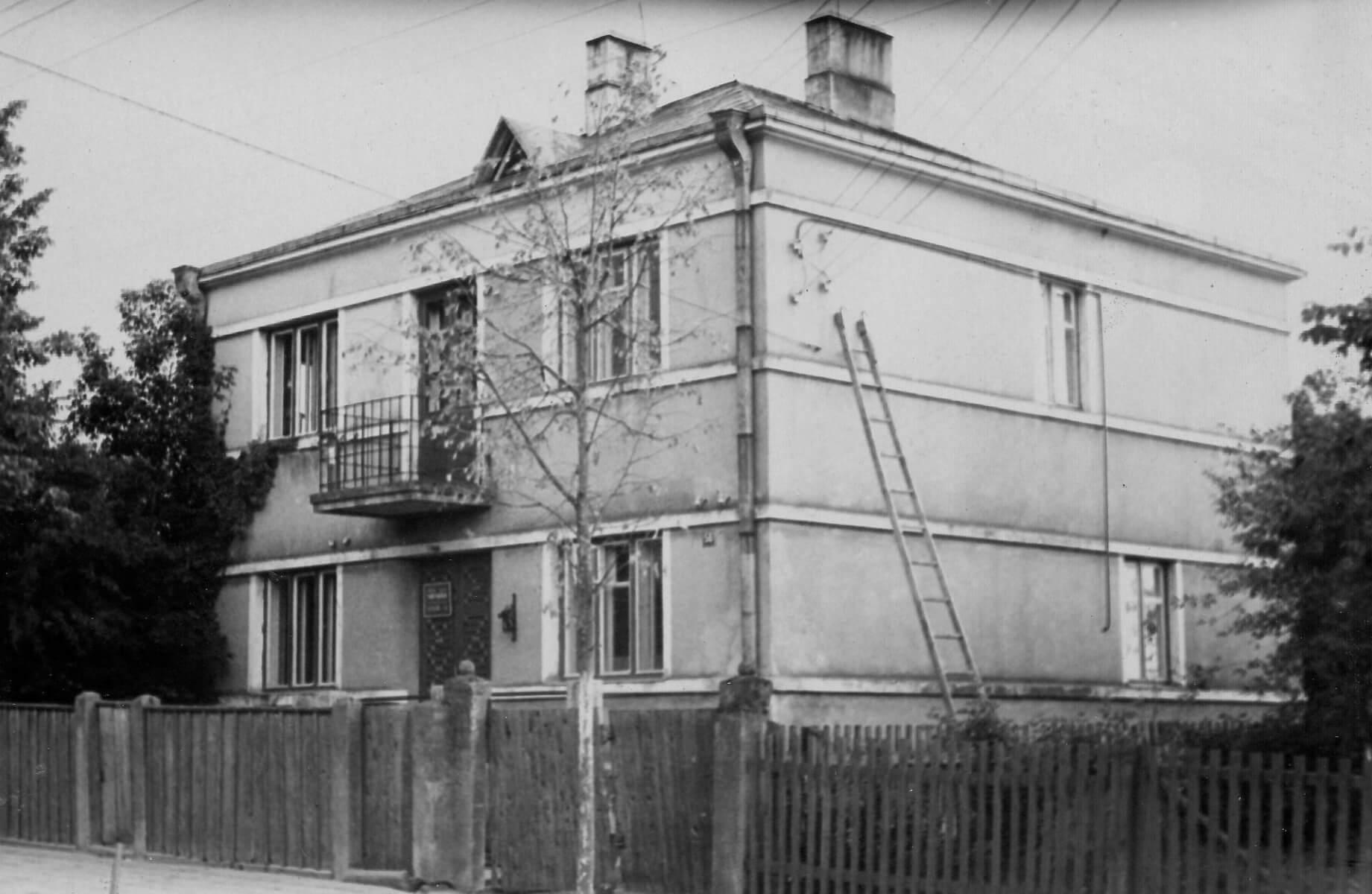 Kriščiūnų namas prie rekonstrukcijos.