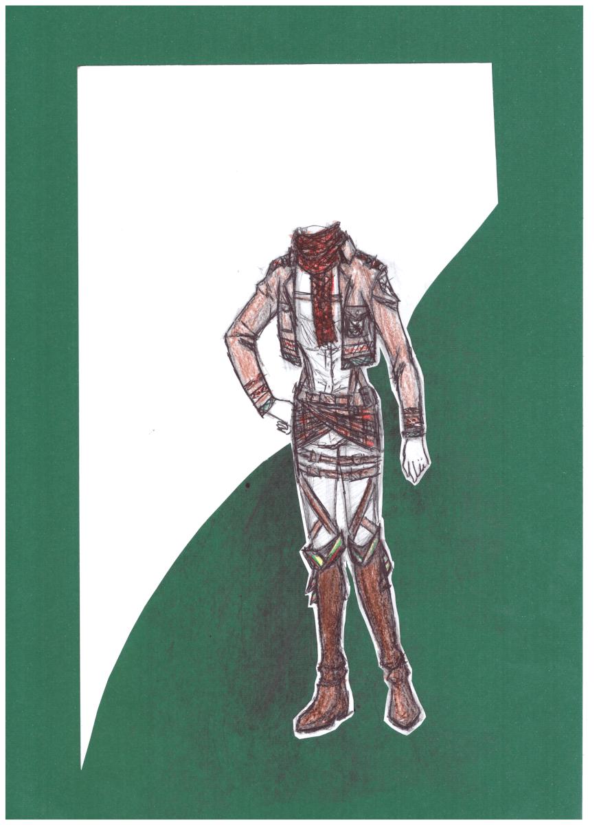Ugnė Tubelytė. 13 m. Mikasa. Rokiškio r. Pandėlio gimnazija. (Mok. Aušra Viduolienė)